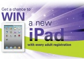 Win an Apple iPad!